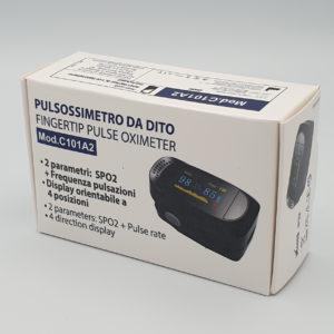 pulsossimetro saturimetro misurazione ossigenazione sangue frequenza cardiaca