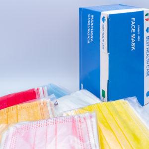 SGM Mascherine Best Health Care colorate adulti
