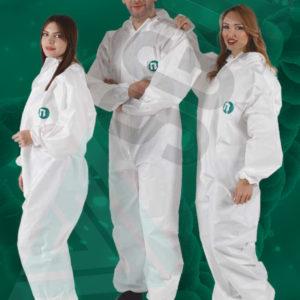 tuta protettiva monouso agenti chimici infettivi