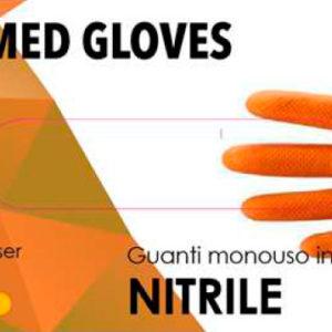 SGM guanti nitrile arancio