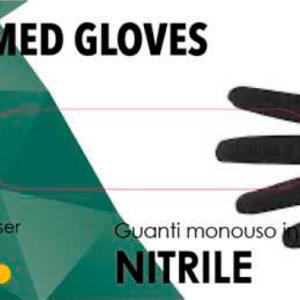 SGM guanti nitrile neri