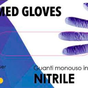 SGM New Med Nitrile Blu 3.5